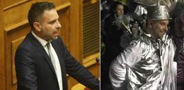 ΑΥΤΑ ΕΙΝΑΙ ΓΟΥΣΤΑ! Από τα έδρανα της Βουλής... καρναβαλιστής -Ο βουλευτής που παρέλασε στον Τύρναβο [εικόνες]