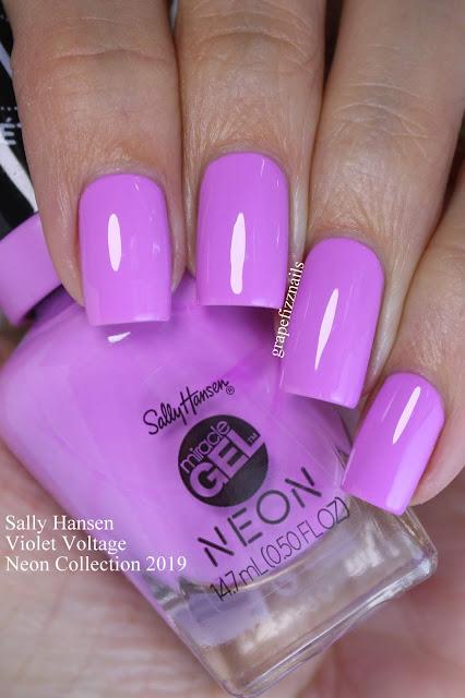 Sally Hansen Violet Voltage Neon Collection
