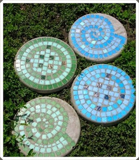 Bahçeler için Mozaik Taş Çalışması, Bahçe Dekorasyon Çalışmaları