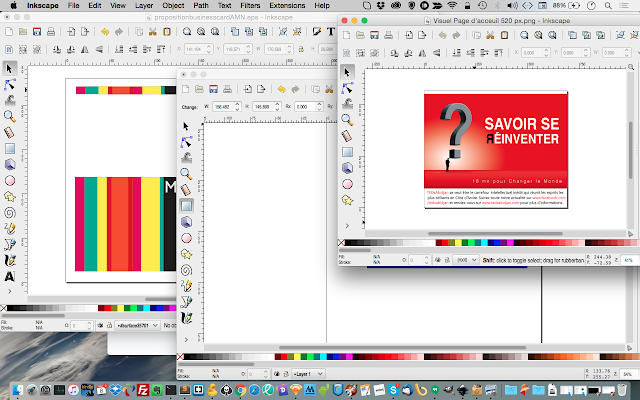 InkScape : une version native pour OS X, A Unix Mind In A Windows World