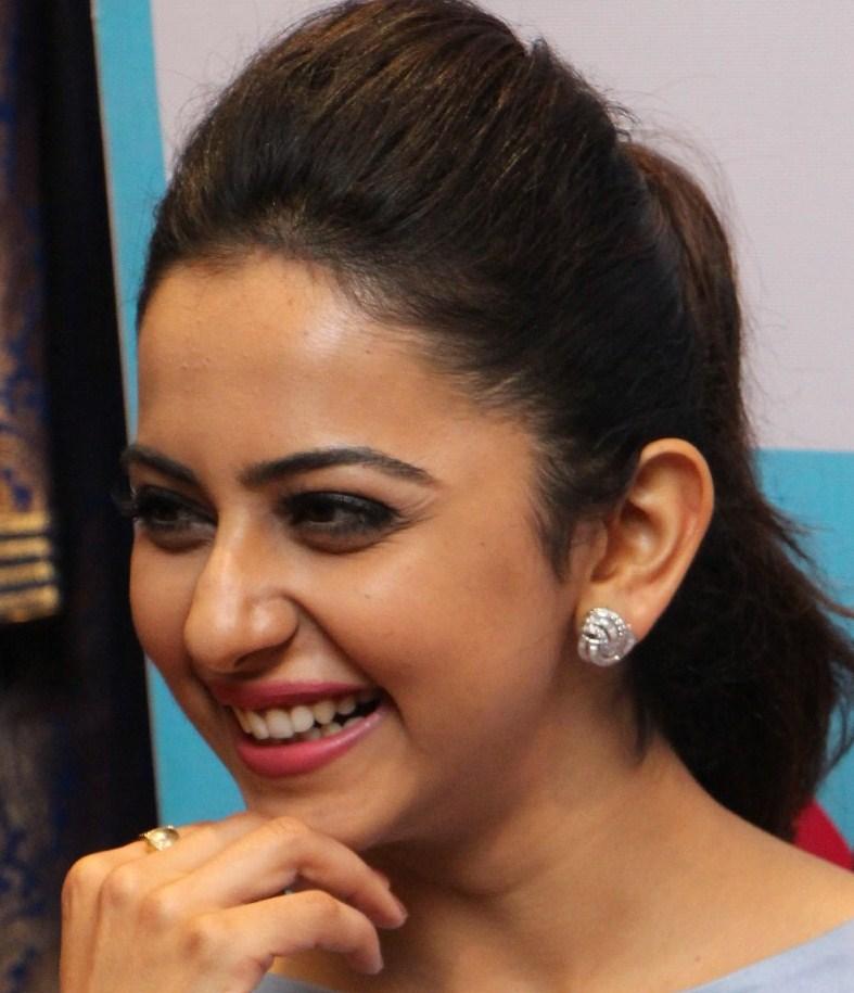 Actress Rakul Preet Singh Oily Face Close Up Stills