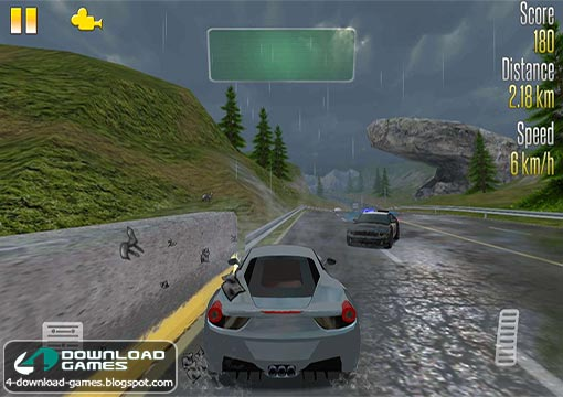 تحميل لعبة سباق سيارات Highway Racer