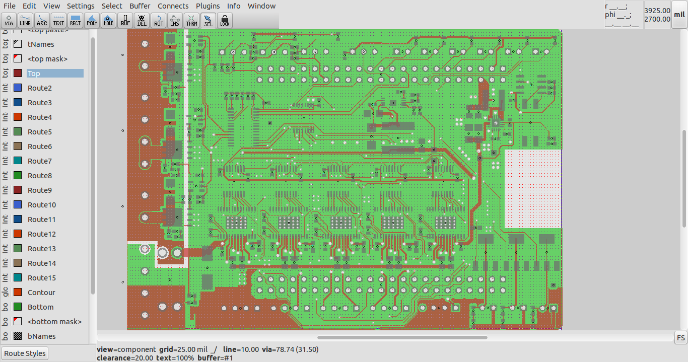 blog de VK5HSE: pcb-rnd now has native support for Eagle XML (.brd ...