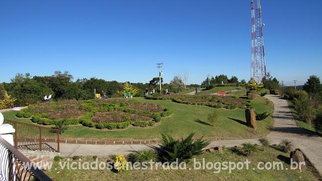 Jardim no alto do Morro da Fome, Linha Imperial, Nova Petrópolis