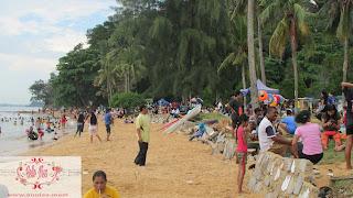 Pantai tanjung pinggir sekupang Batam Kepri