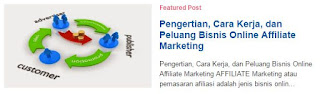 Kode Featured Post SEO Friendly untuk Blogger