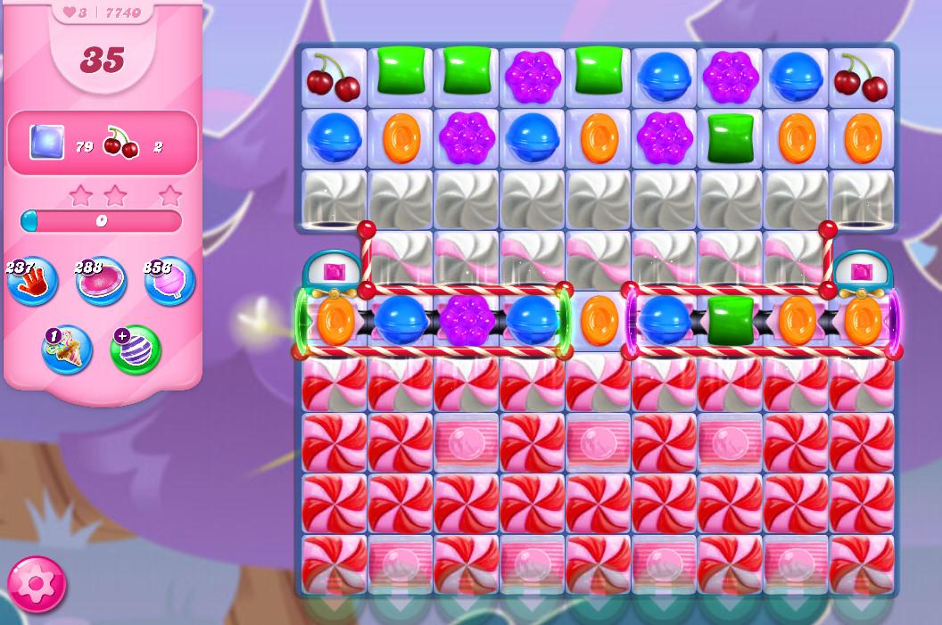 Candy Crush Saga level 7740