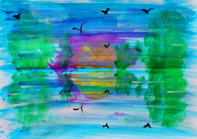 Lacul - simetrie