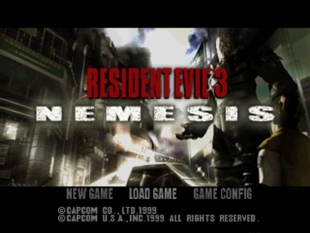2X Gamer: ->Resident Evil 3 PT-BR - Nemesis Game 290 Mb (PS1