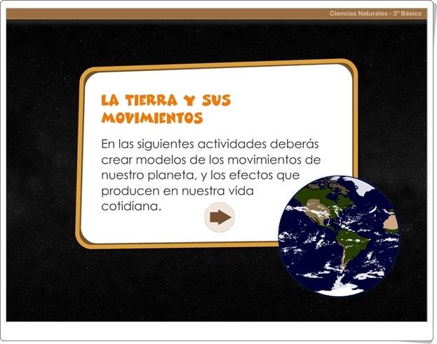 """""""La Tierra y sus movimientos"""" (Juego de Ciencias Sociales de Primaria)"""