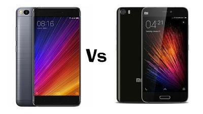 Xiaomi Mi 5s Vs Xiaomi Mi 5
