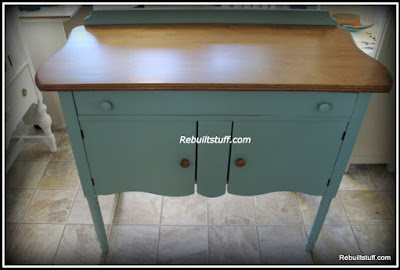 Vintage Work Table for Crafts, Kitchen or Sewing Room