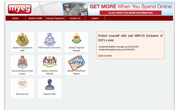 Cara Ganti MyKad Secara Online