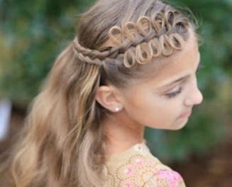 aqu las mejores imgenes de lindos peinados con trenzas para nias como fuente de inspiracin