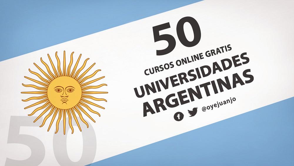 50 Cursos Online Gratis De Universidades Argentinas