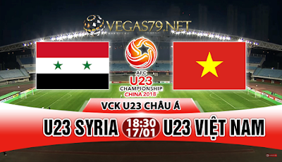 Nhận định - Soi kèo: U23 Syria vs U23 Việt Nam