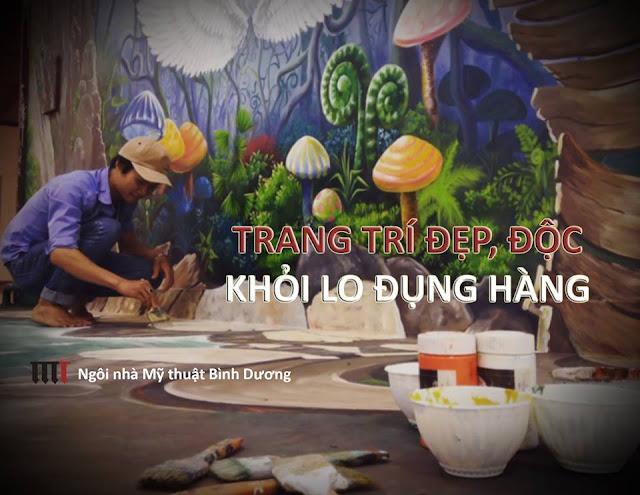 Tranh tuong 3D re dep