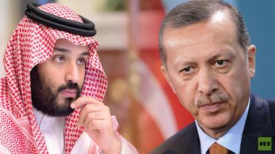 أردوغان ومحمد بن سلمان