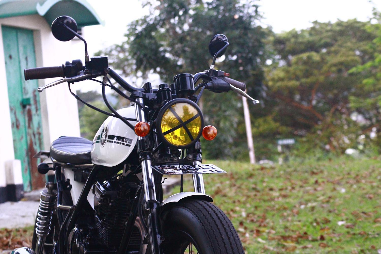 Headlamp Motor Custom Japstyle Scorpio