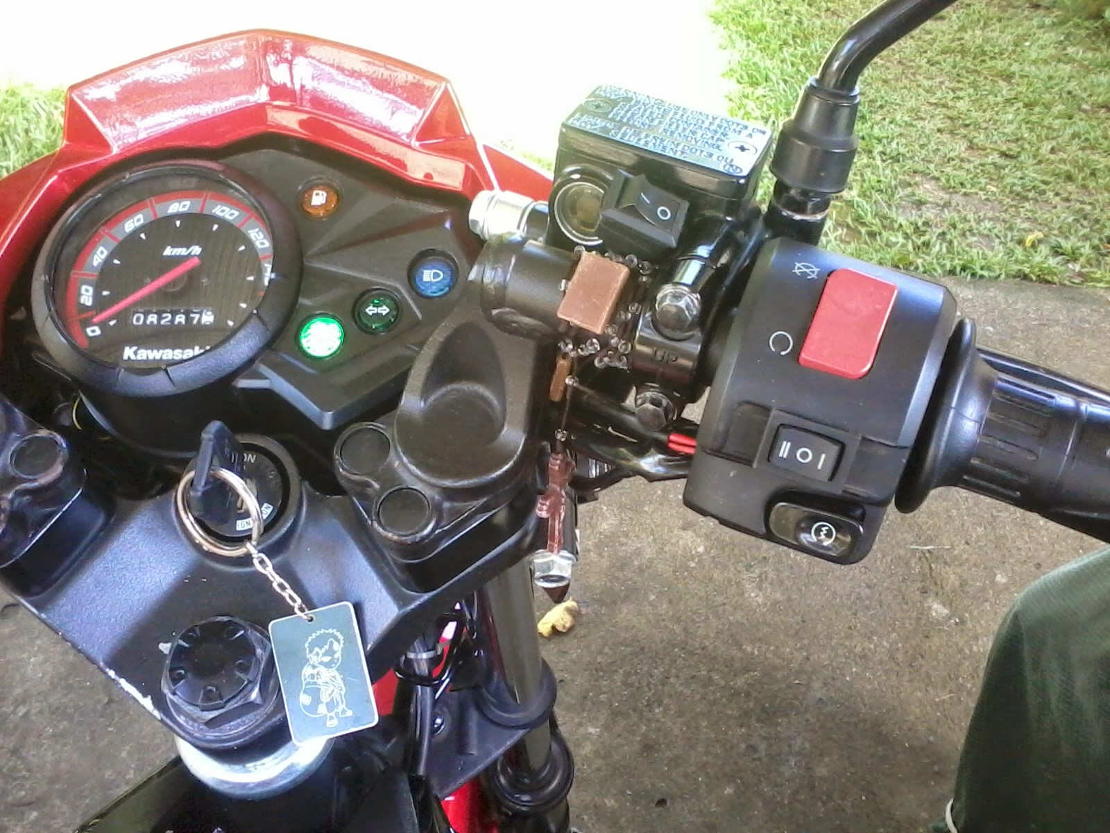 Kawasaki Fury 125r Solution To Your Headlight Lamp Switchless