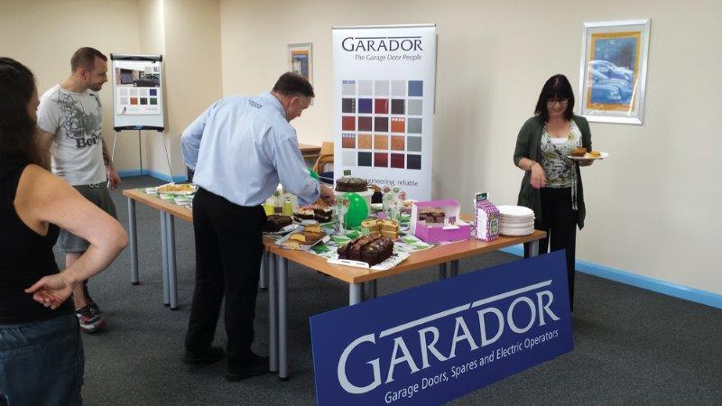 The Door Industry Journal Garador Supports Macmillan