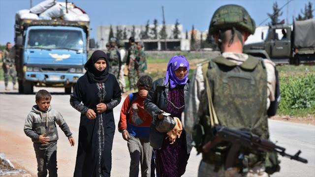 Rusia denuncia 'excusas inventadas' para lanzar un ataque a Siria
