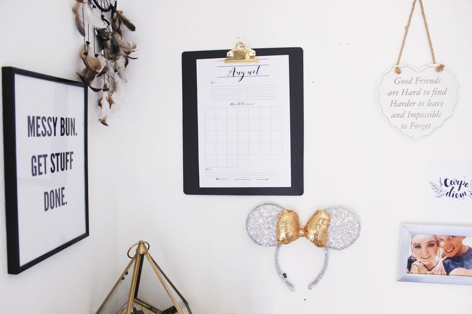See The Stars - Free Printable Calendar