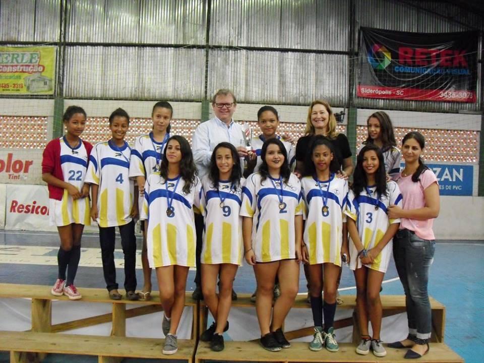 Jogos Escolares de Siderópolis reúnem mais de 400 alunos ... 79650ea2cb49d