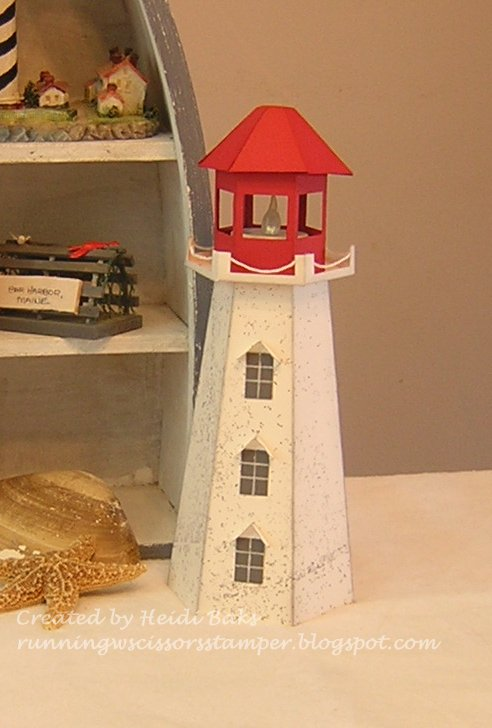 RunningwScissorsStamper: 3-D Thursday: Lighthouse