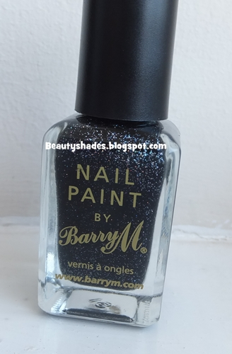 Barry M Black Multi Glitter Nail Paints