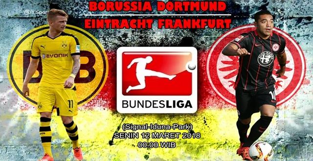 Prediksi Borussia Dortmund vs Eintracht Frankfurt 12 Maret 2018