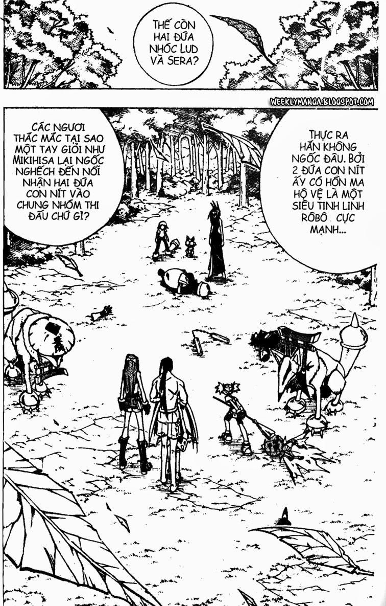 Shaman King [Vua pháp thuật] chap 161 trang 17