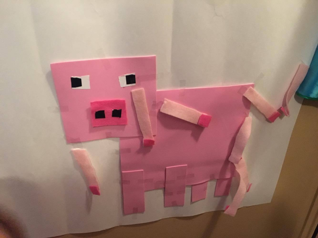 Buttercup Mom Minecraft Birthday Party