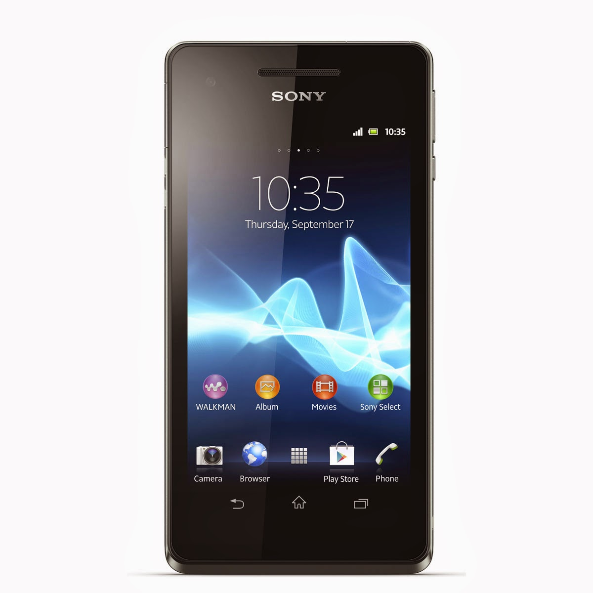 sony xperia v noir 4g smartphone 4 3 pouces comparatif smartphones. Black Bedroom Furniture Sets. Home Design Ideas