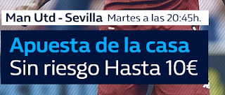 william hill promocion Manchester United vs Sevilla 13 marzo
