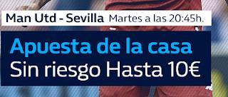 william hill promocion Manchester United vs Sevilla 13 marzo