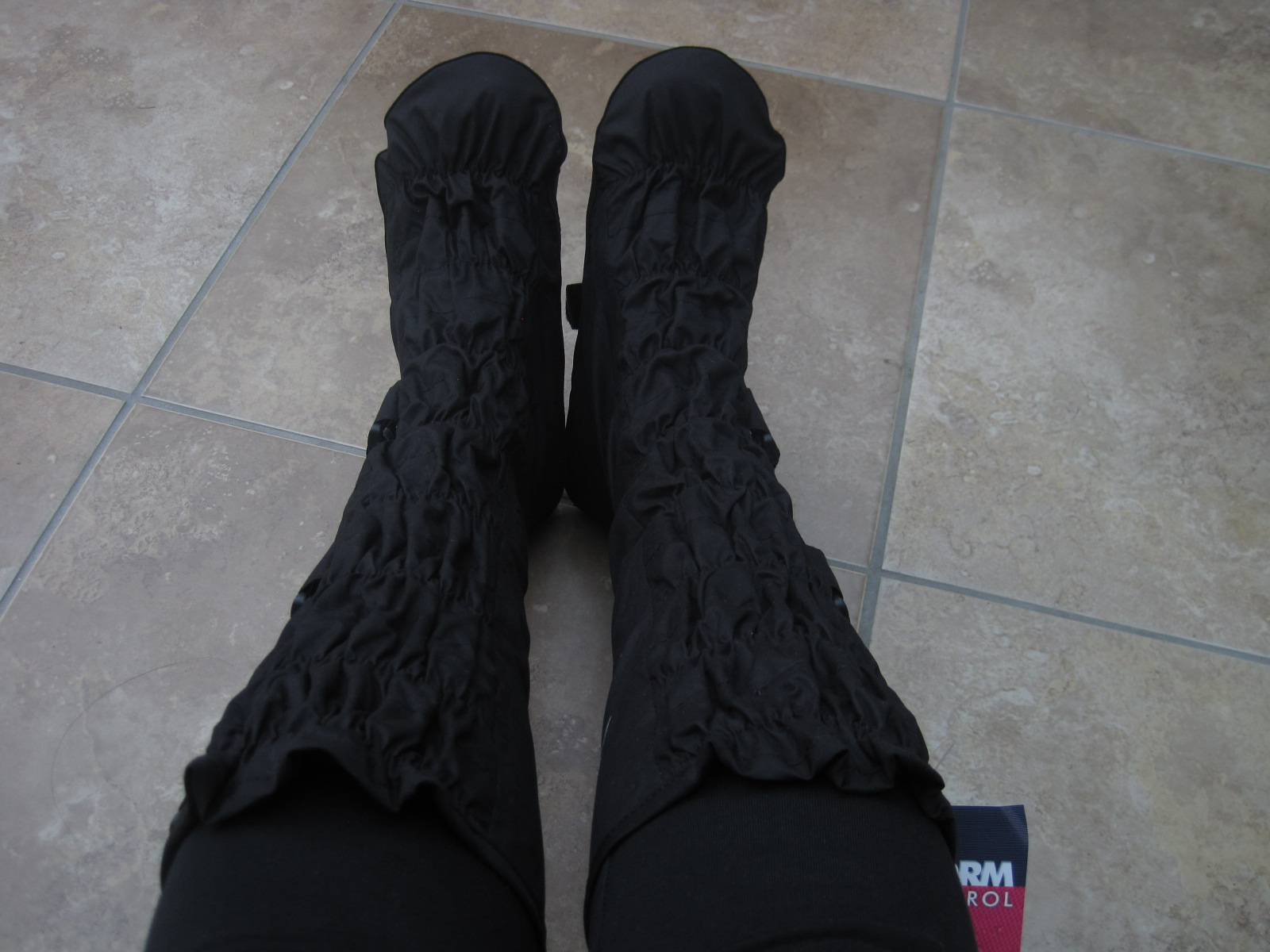 These fancy things are called Leggits and I've got them online from Georgia  in Dublin, where they have their fair share of rain. They had some other  cool, ...