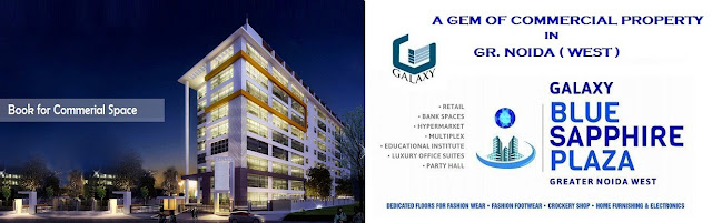 Galaxy Blue Saphhire Plaza Noida