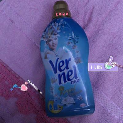 Vernel max, vernel, yumuşatıcı, vernel max royal lilyum, çamaşır deterjanı