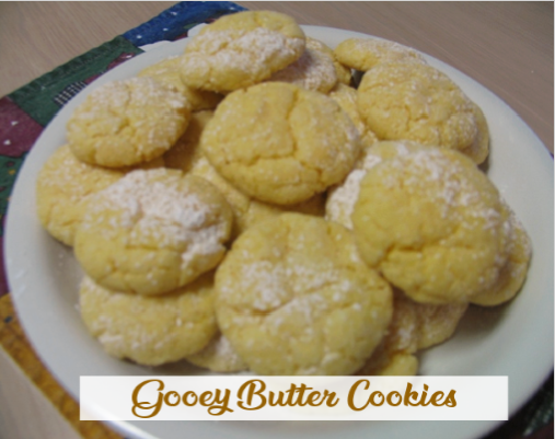 Mommy S Kitchen Recipes From My Texas Kitchen Gooey Butter Cookies