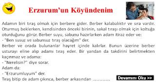 Erzurum'un Köyündenim - Erzurum Fıkraları - Komikler Burada