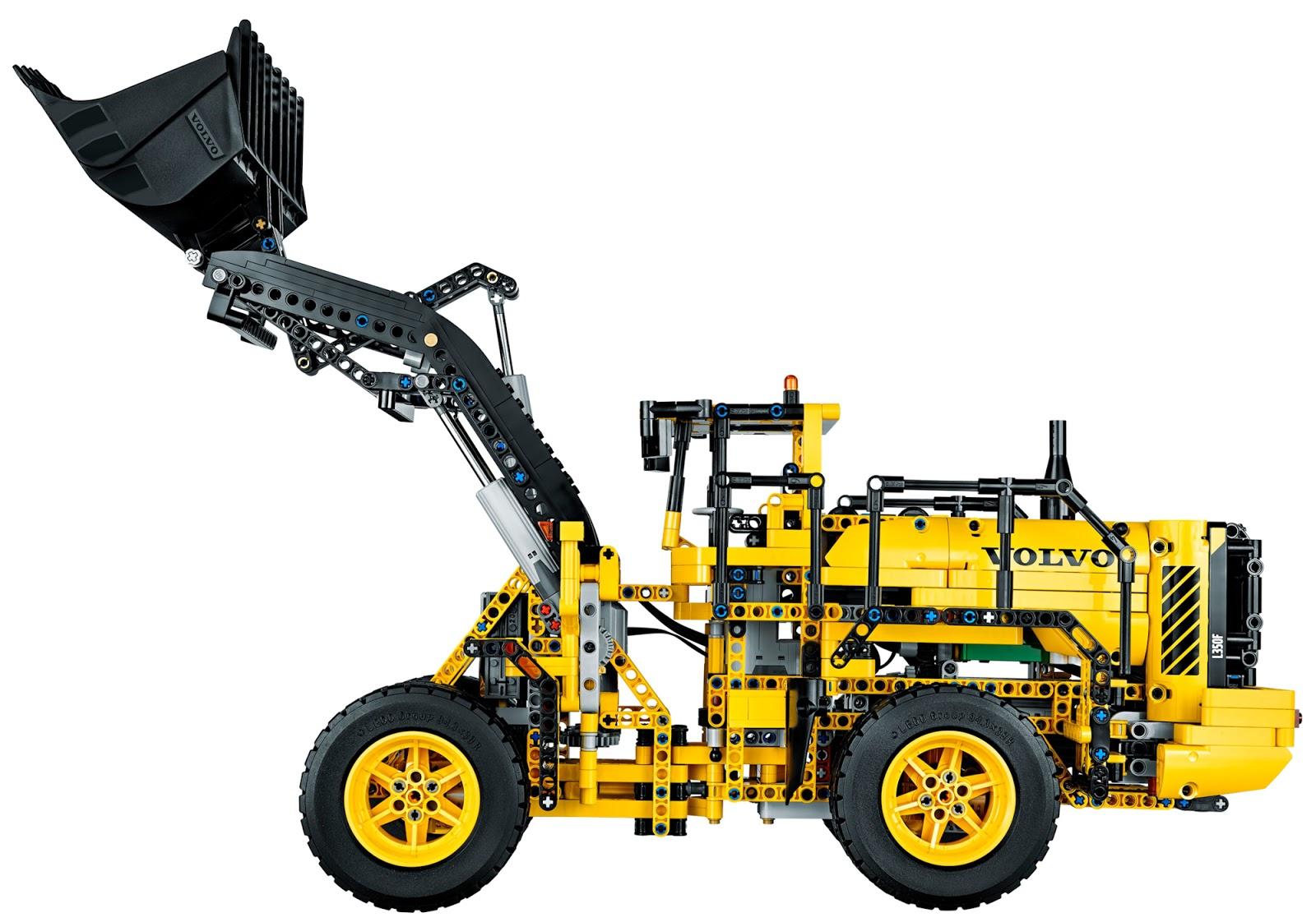 the brickverse designing the lego technic volvo l350f. Black Bedroom Furniture Sets. Home Design Ideas