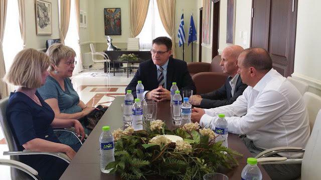 Συνάντηση Πέτροβιτς με Βουλγαρική αντιπροσωπεία από την Στάρα Ζαγόρα