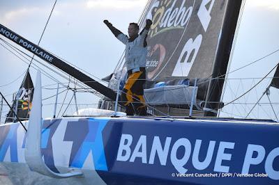 Armel Le Cléac'h grand vainqueur du Vendée Globe