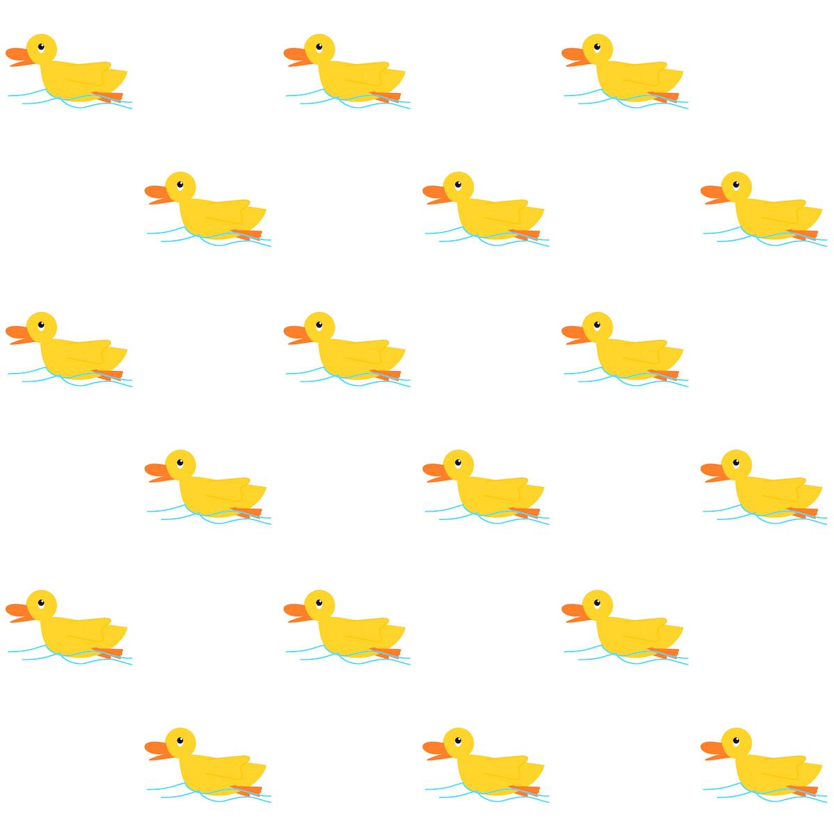 Free Digital Rubber Duck Scrapbooking Paper