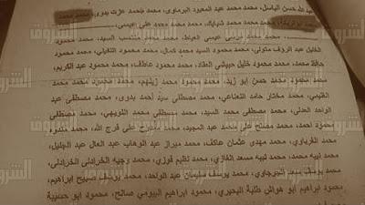 Egypt's terrorist list