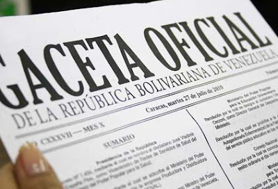 Gaceta Oficial N° 40.950 anuncia incorporación de trabajadores públicos y privados al proceso productivo