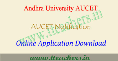 AUCET 2019 online application form, aucet apply online 2019
