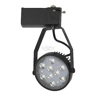 12W LED軌道投射燈,LED軌道燈(黑)