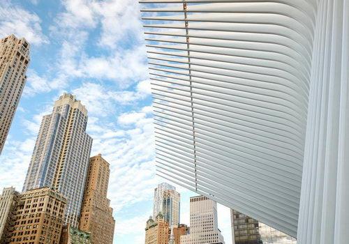 Tinuku Oculus World Trade Center Desain Santiago Calatrava Difoto Hufton + Crow